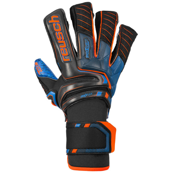 REUSCH ATTRAKT G3 FUSION GOALIATOR BLACK/DEEP BLUE/ORANGE