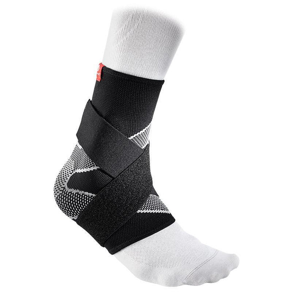MC DAVID 5122R ANKLE SLEEVE 4 WAY ELASTIC 8 STRAPS