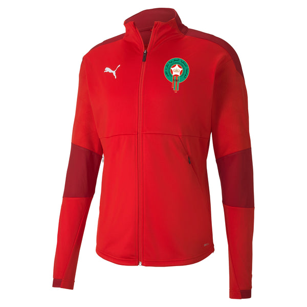 PUMA MAROKKO 20 TRG JACKET RED/CHILI PEPPER
