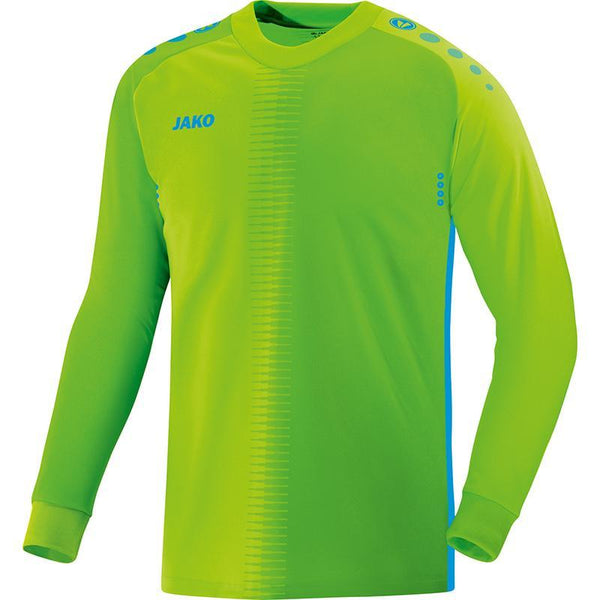 JAKO JR COMPETITION 2.0 GK SHIRT FLUO GREEN/BLUE