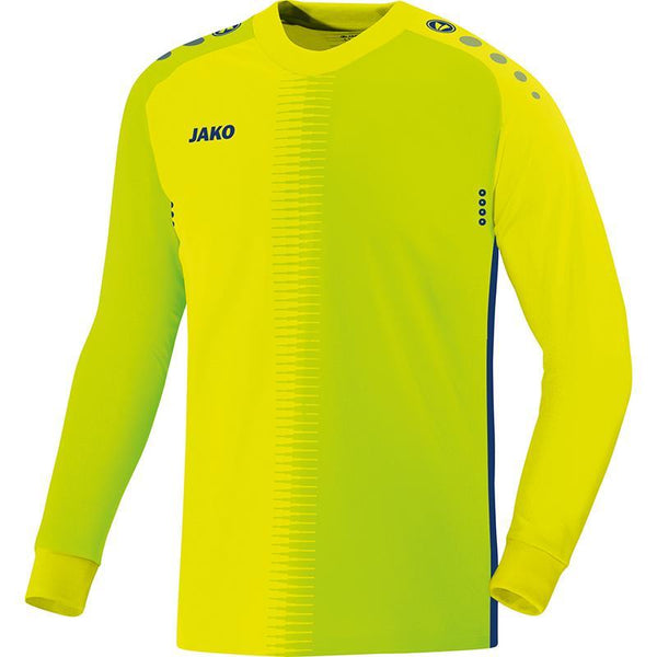 JAKO JR COMPETITION 2.0 GK SHIRT LEMON/NAVY