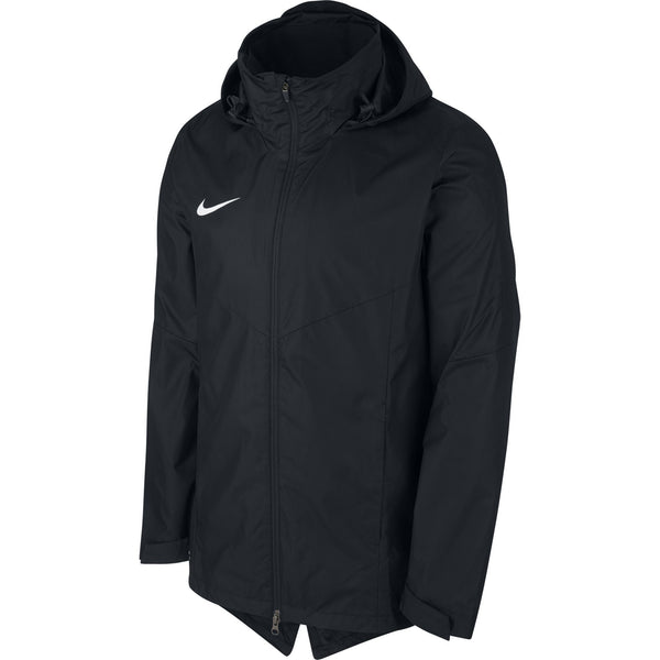 NIKE JR ACADEMY RAINJACKET BLACK/BLACK/WHITE