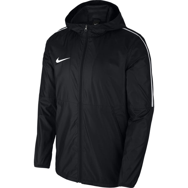 NIKE PARK 18 RAINJACKET BLACK/WHITE