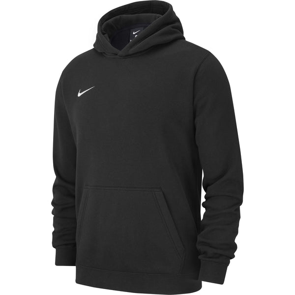 NIKE JR TEAM CLUB19 HOODIE BLACK/WHITE