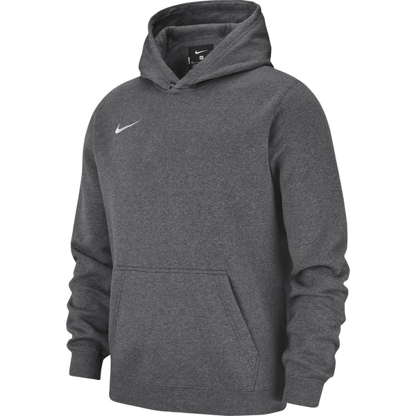 NIKE JR TEAM CLUB19 HOODIE CHARCOAL HEATHER/ANTHRACITE