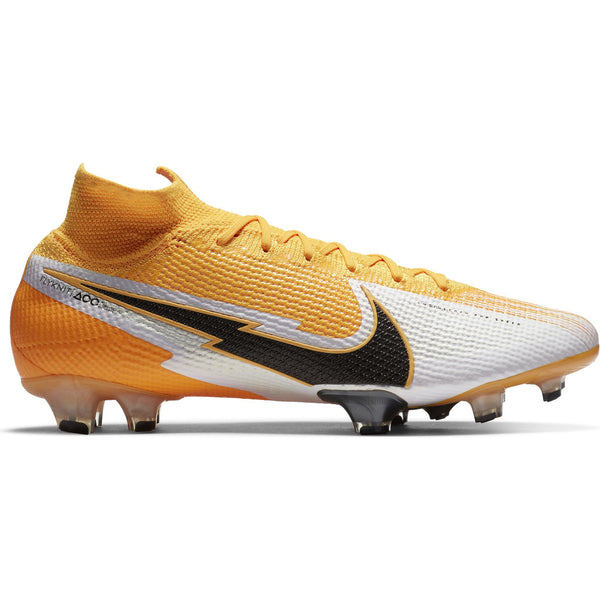 NIKE MERCURIAL SUPERFLY 7 ELITE FG LASER ORANGE/BLACK/WHITE