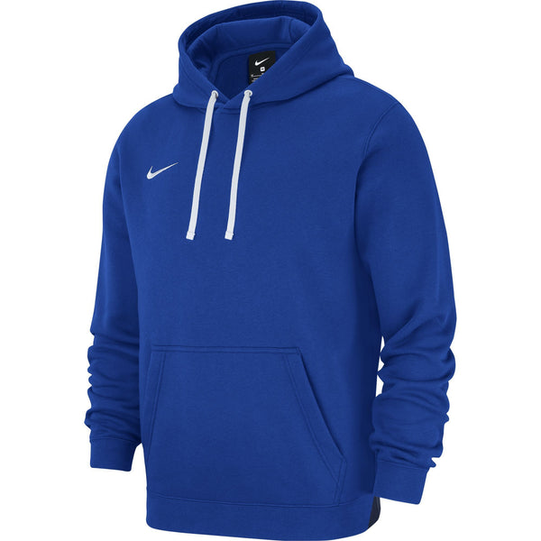 NIKE TEAM CLUB19 HOODIE ROYAL/WHITE