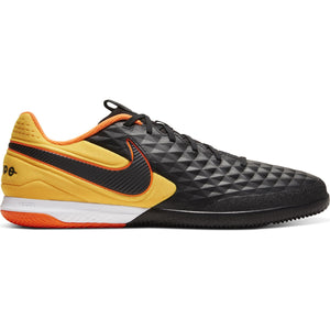 NIKE REACT TIEMPO LEGENDx 8 PRO IC BLACK/BLACK/LASER ORANGE