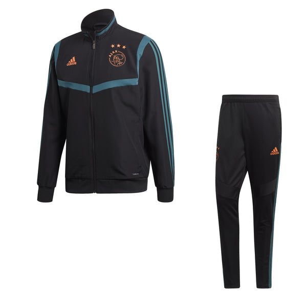 ADI AJAX 19-20 PRE SUIT BLACK/TECH GREEN