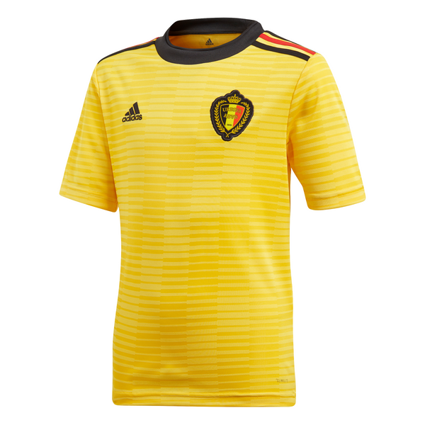 ADI JR BELGIE 18 A JERSEY YELLOW/BLACK/RED