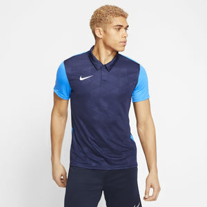 NIKE TROPHY IV JERSEY SS MIDNIGHT NAVY/PHOTO BLUE/WHITE