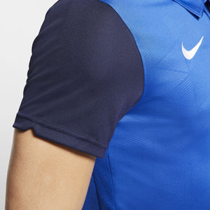 NIKE TROPHY IV JERSEY SS ROYAL BLUE/MIDNIGHT NAVY/WHITE