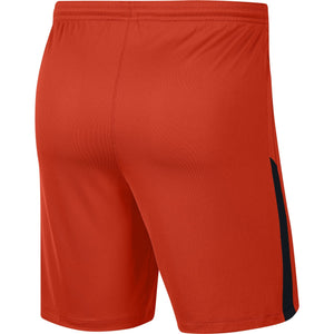 NIKE LEAGUE KNIT II SHORT TEAM ORANGE/BLACK