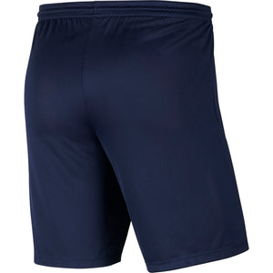 NIKE JR PARK III SHORT NAVY