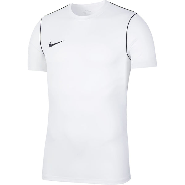 NIKE PARK20 TOP SS WHITE/BLACK