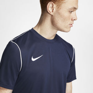 NIKE PARK20 TOP SS OBSIDIAN/WHITE
