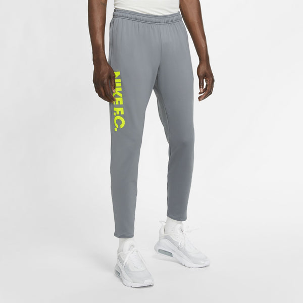 NIKE FC20 PANT ESSENTIAL SMOKE GREY/VOLT