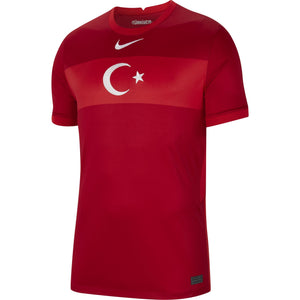 NIKE TURKIJE 20 AWAY JERSEY GYM RED/SPORT RED/WHITE