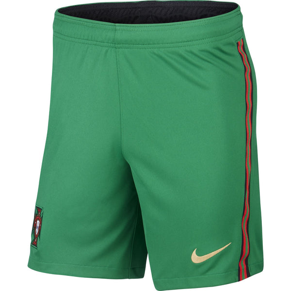 NIKE PORTUGAL 20 HOME SHORT PINE GREEN/METALLIC GOLD