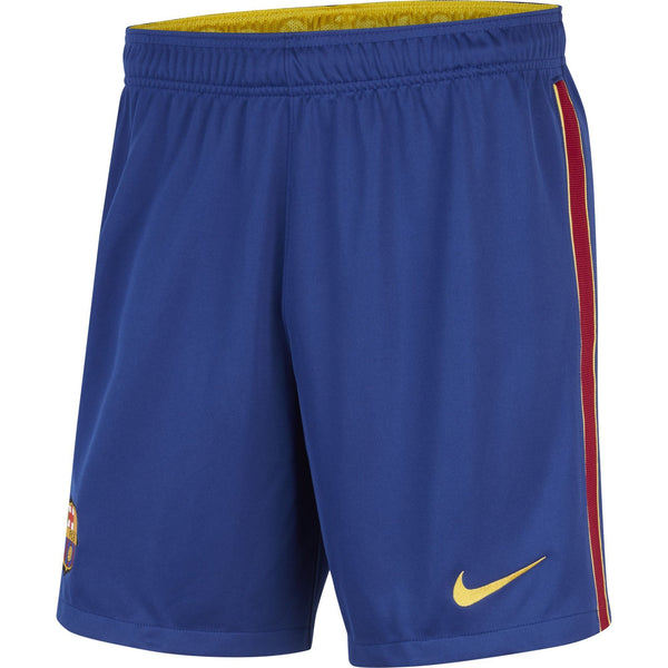 NIKE BARCELONA 20-21 HOME SHORT DEEP ROYAL/VARSITY MAIZE