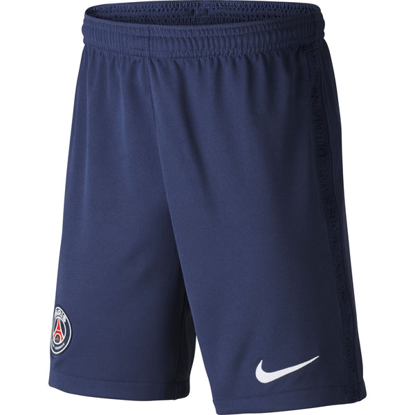 NIKE JR PSG 20-21 HOME SHORT MIDNIGHT NAVY/WHITE