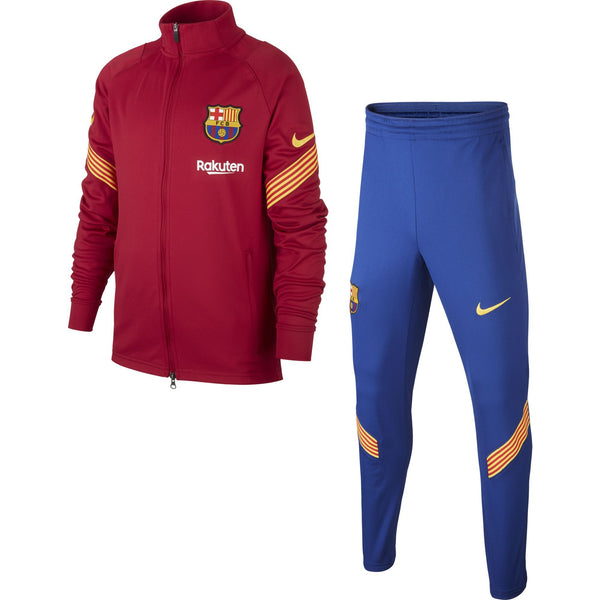NIKE JR BARCELONA 20-21 STRIKE POLY SUIT NOBLE RED/AMARILLO