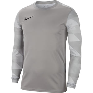 NIKE PARK IV GOALKEEPER JERSEY LS PEWTER GREY/WHITE