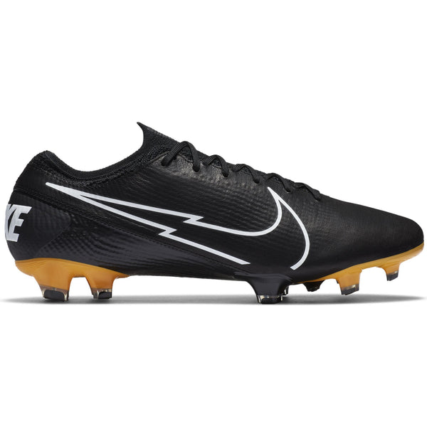 NIKE MERCURIAL VAPOR 13 ELITE TECH CRAFT FG BLACK/WHITE/GOLD