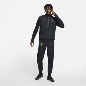NIKE BARCELONA 20-21 WOVEN TRACK JACKET BLACK/GOLD