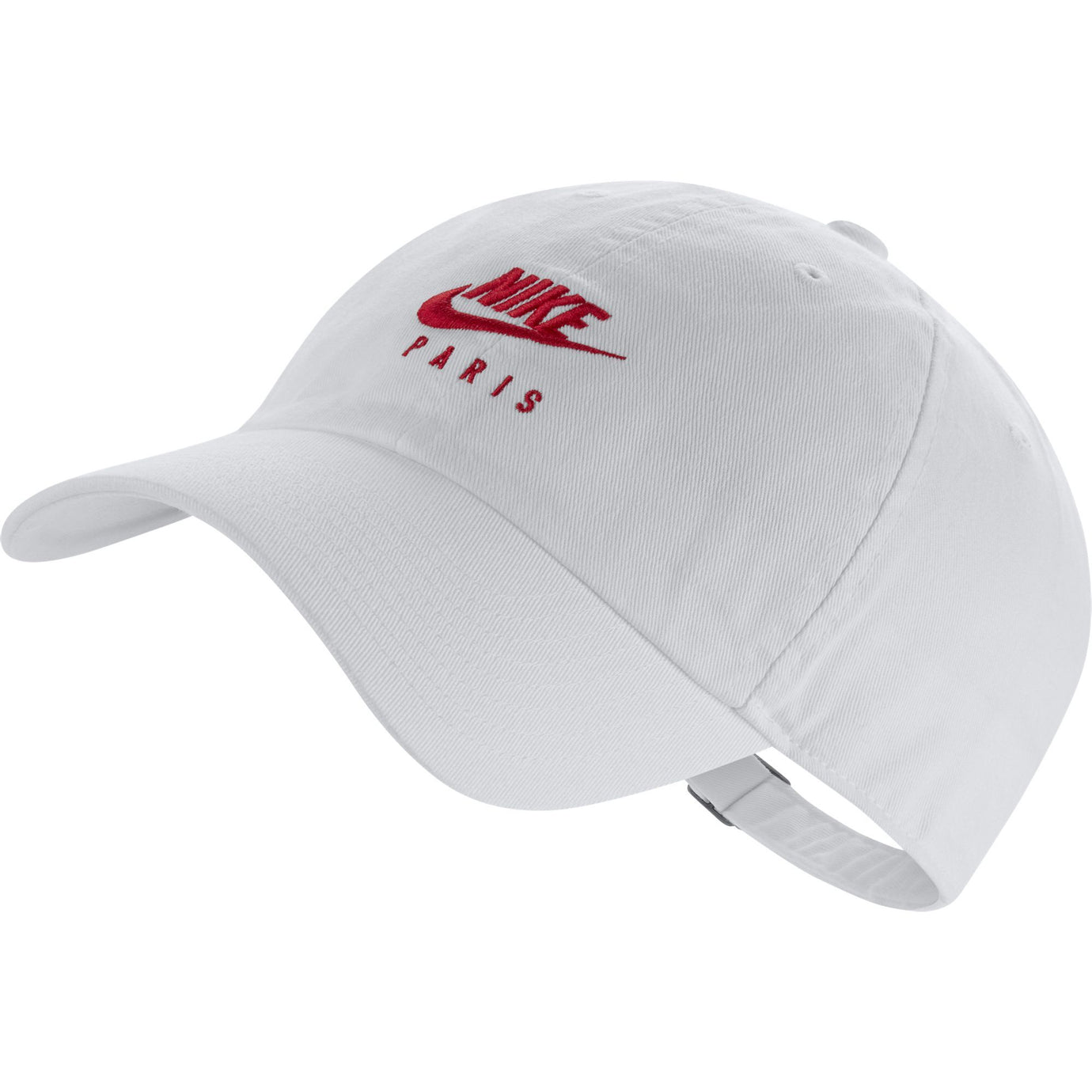 NIKE PSG 19-20 CAP HERITAGE86 WHITE/UNIVERSITY RED