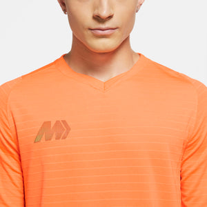 NIKE MERCURIAL JERSEY SS TOTAL ORANGE/TOTAL ORANGE