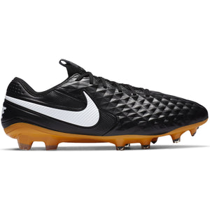 NIKE LEGEND 8 ELITE TECH CRAFT FG BLACK/WHITE/GOLD