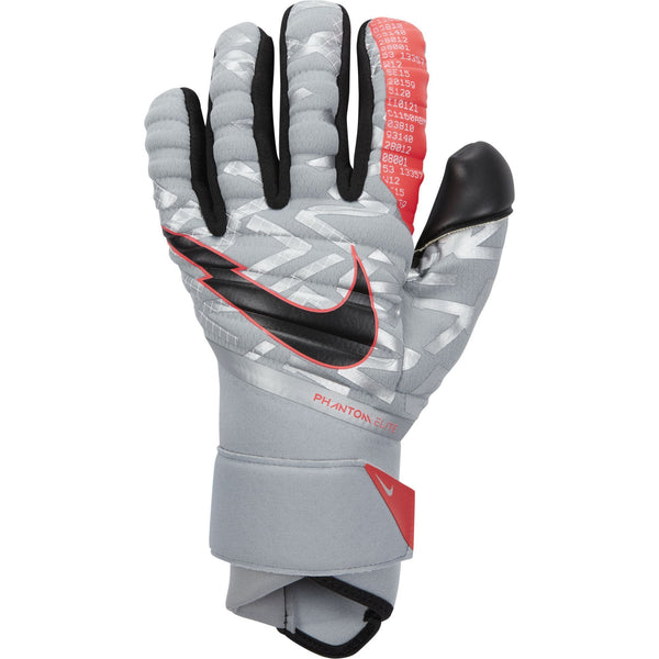 NIKE PHANTOM ELITE GOALKEEPER PARTICLE GREY/LASER CRIMSON/BL