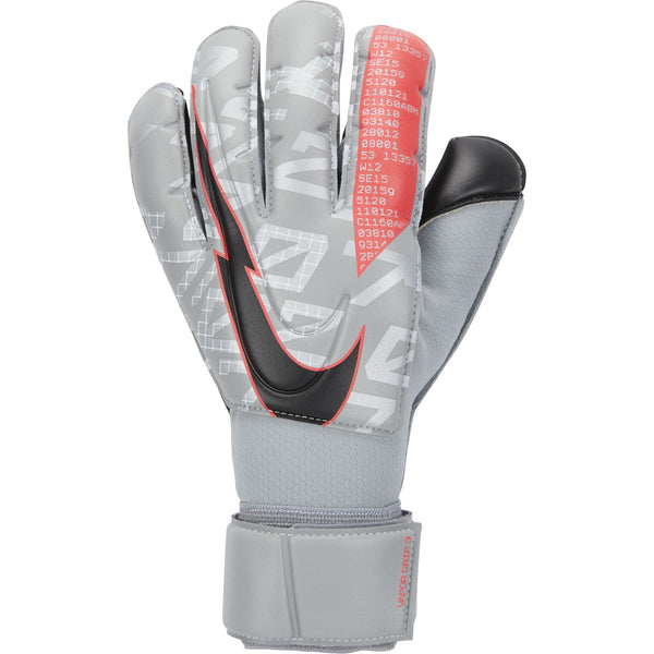 NIKE VAPOR GRIP3 GK PARTICLE GREY/LASER CRIMSON/BLACK