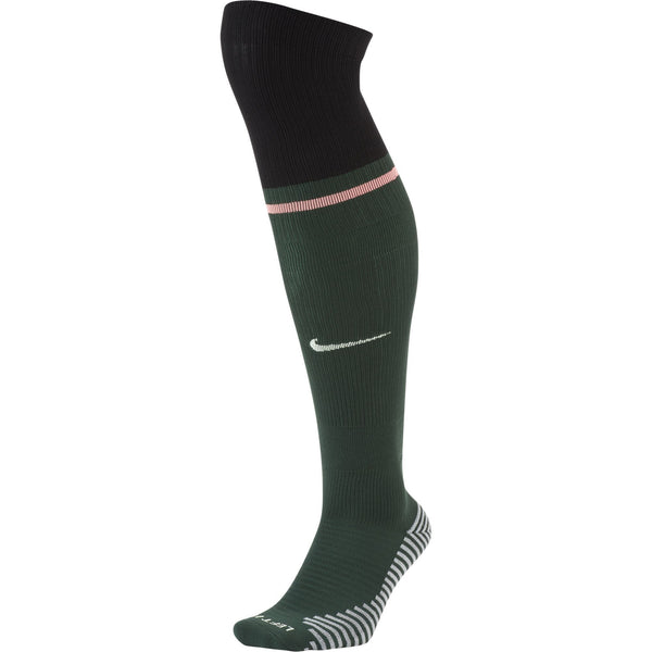 NIKE TOTTENHAM 20-21 AWAY SOCK PRO GREEN/BLACK/LAVA GLOW/VOL