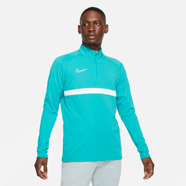 NIKE ACADEMY21 DRILL TOP AQUAMARINE/WHITE