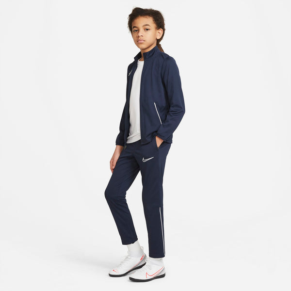NIKE JR ACADEMY21 TRACK SUIT OBSIDIAN/WHITE