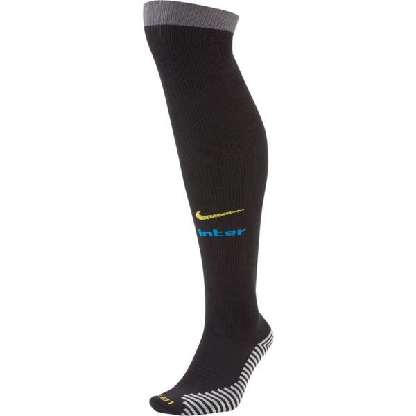 NIKE INTER 20-21 3rd SOCK BLACK/DARK GREY/TOUR YELLOW