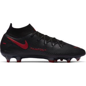 NIKE PHANTOM GT ELITE DF FG BLACK/CHILE RED/SMOKE GREY