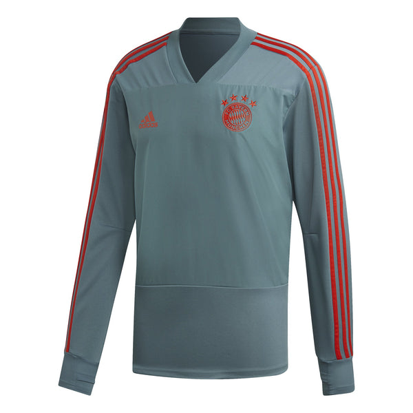 ADI FC BAYERN 18-19 TRG TOP RAW GREEN/RED