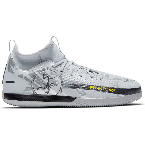 NIKE JR PHANTOM GT ACADEMY DF IC SCORPION WOLFGREY/SILVER