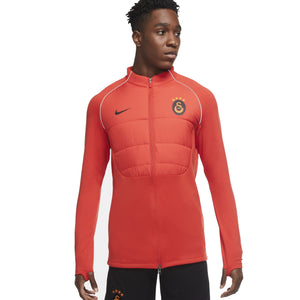 NIKE GALA 20-21 STRIKE PADDED DRILL TOP CHILE RED/BLACK