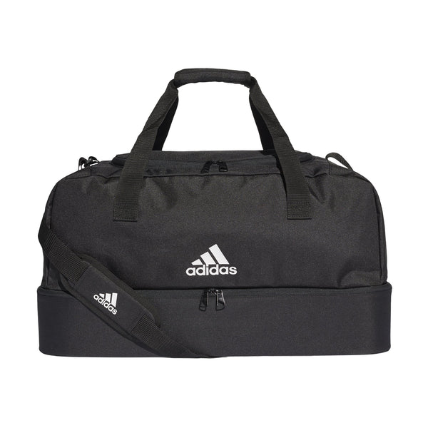 ADI TIRO 19 DUFFELBAG BOTTOM COMPARTMENT BLACK