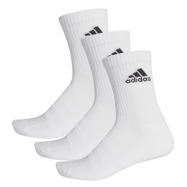 ADI LIGHT CREW SOCK 3p WHITE
