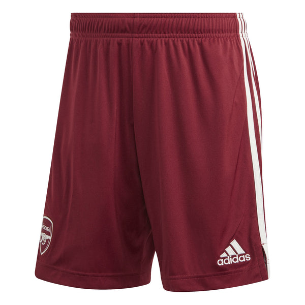 ADI ARSENAL 20-21 AWAY SHORT NOBLE MAROON/CLOUD WHITE