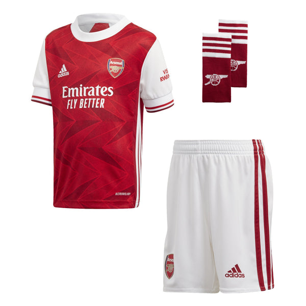 ADI JR ARSENAL 20-21 HOME MINIKIT ACTIVE MAROON/WHITE