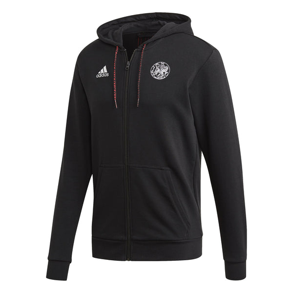 ADI AJAX 20-21 FULL ZIP HOODY BLACK/RED