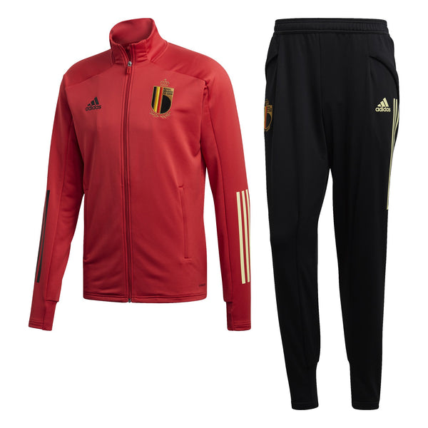 ADI BELGIE 20 TRACK SUIT GLORY RED/BLACK