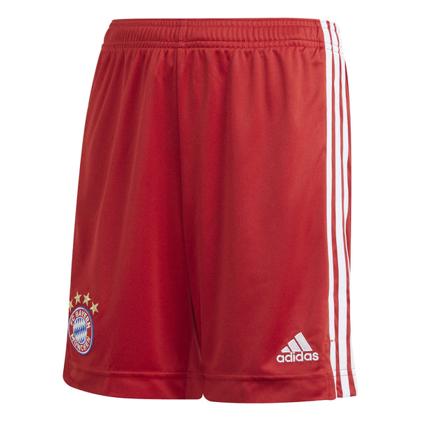 ADI JR BAYERN 20-21 HOME SHORT TRUE RED