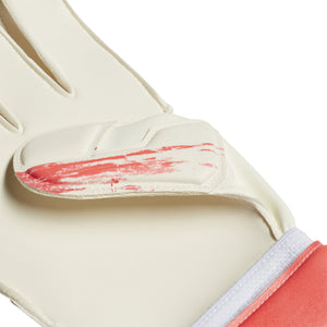 ADI JR PREDATOR20 GLOVES MTC WHITE/POP ORANGE